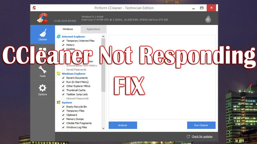 CCleaner Doesn't Work On This Version Of Windows, ccleaner not working on windows